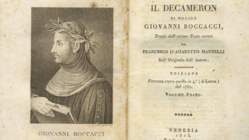 Портрет одной книги «Декамерон» Джованни Боккаччо