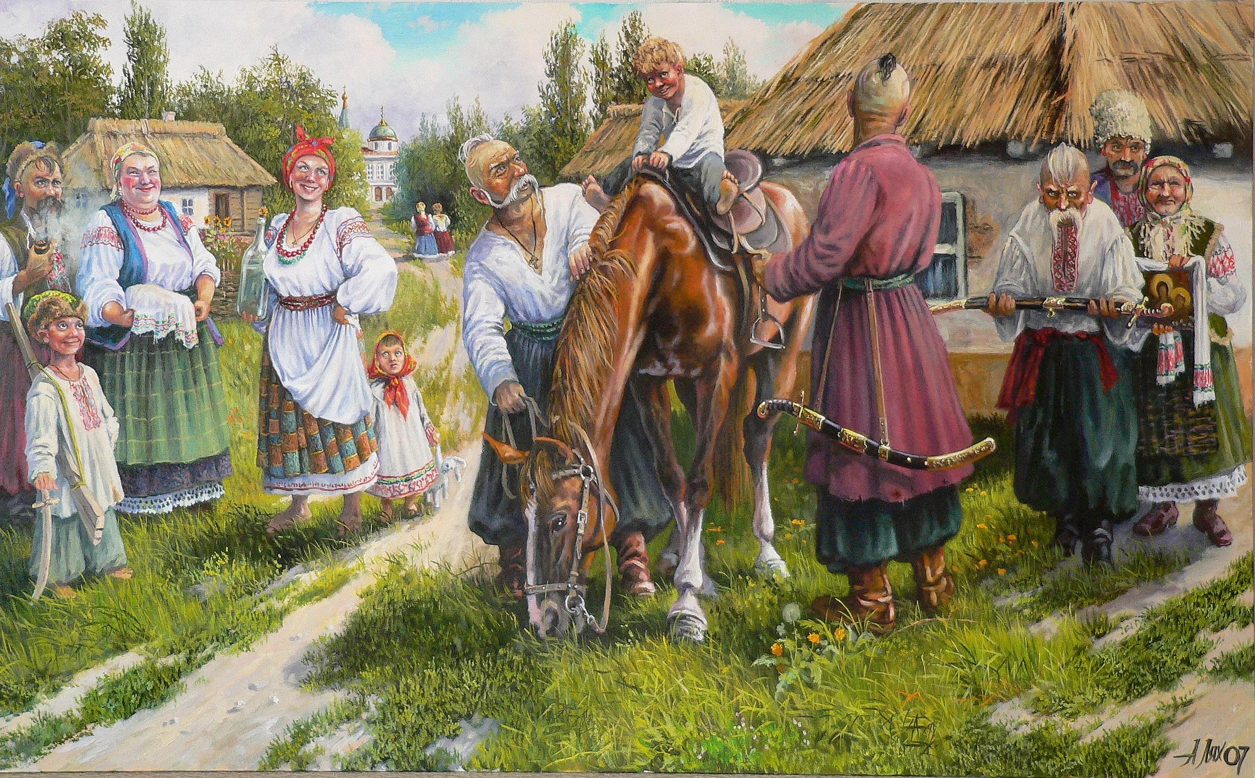 Познавательный час «Устои казачьей жизни: роль отца и матери в семье»